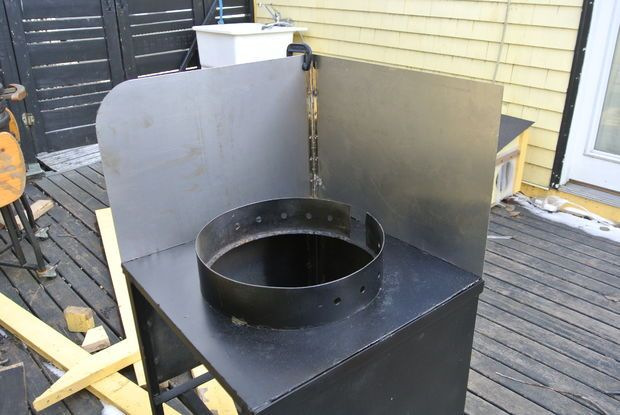 Homemade Outdoor Wok Station Outdoor Cooking Station Outdoor Cooking Area Wok