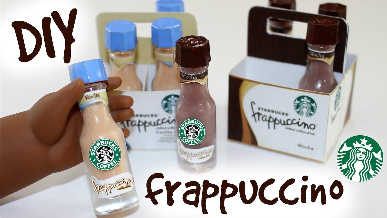 Doll Starbucks Frappuccino | DIY American Girl Doll Craft