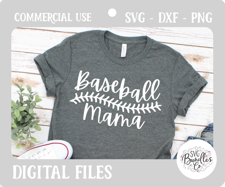 Download Instant SVG/DXF/PNG Baseball Mama svg, baseball svg ...