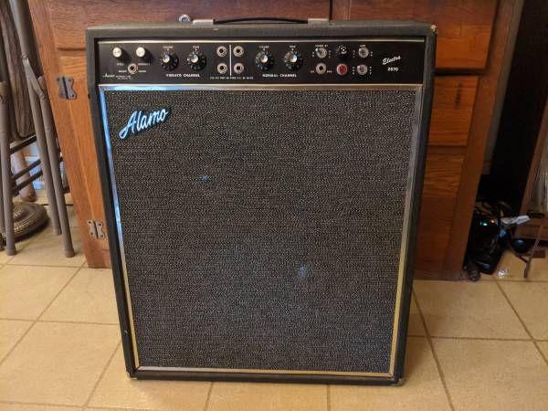 "Best Alamo Electra 2570 2X10"" Guitar Amp Tube Musical 400 x 300"