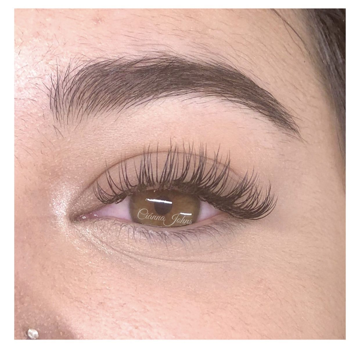 Photo of Classic C-Curl Lash Extensions | Bronzed Humanity #sanjose #beauty #classic #las…