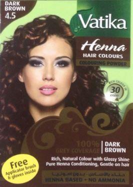 Vatika Henna Burgundy Hair Color Ammonia Free 60 G 2 11 Oz