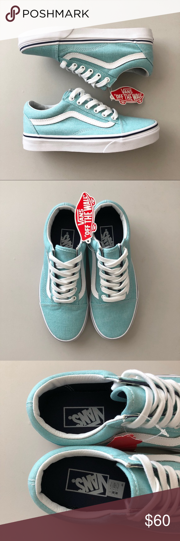 994c2e0dc8 Vans Old Skool Canvas Sneaker New with box