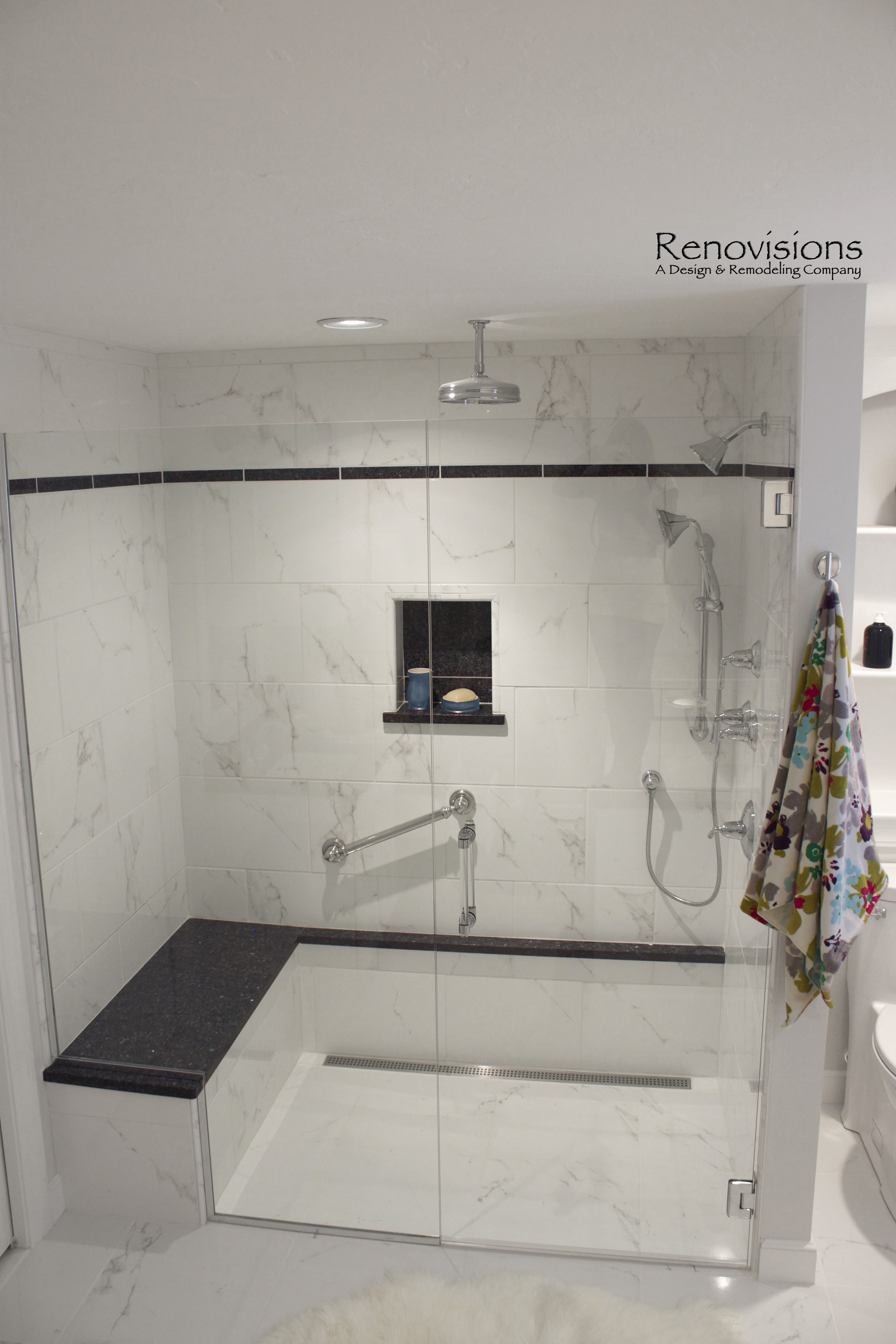 Master Bath Remodel By Renovisions This Spa Like Environment Featurs A