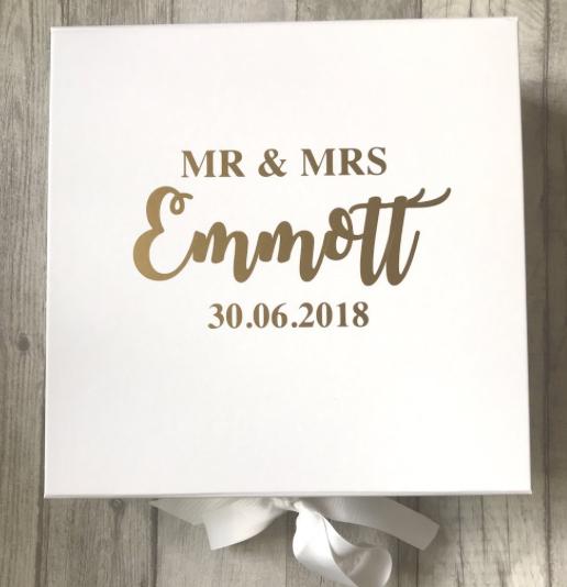 Mr /& Mrs Mr /& Mr date gift personalised Wedding memory Mrs /& Mrs
