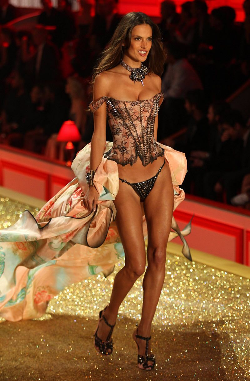 VS Fashion Show 2010: Tough Love Alessandra Ambrosio | VS ...