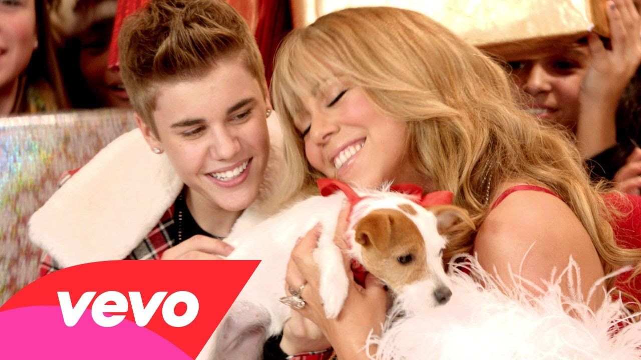 All I Want For Christmas Is You Superfestive Shazam V Mariah Carey Justin Bieber Pictures Mariah Carey Songs