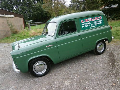 1956 Ford Thames 5cwt 300e Van Green 1 Owner Show Winner For Sale