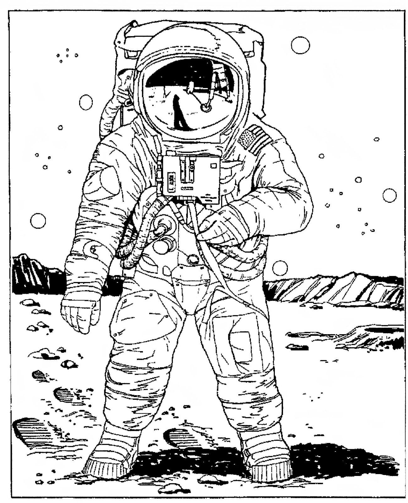 astronaut+coloring.jpg (1299×1600)   in space   Pinterest