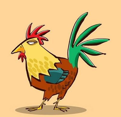 chickens,childrens,illustration-6503a8733f5f26eb874db42f33216f47_h.jpg (400×387)