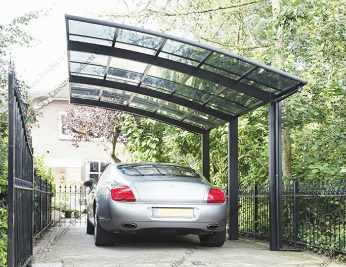 100 anti uv steel car shed for car parking buy steel for Garage roof styles