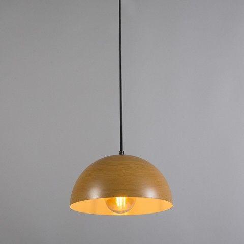 Hanglamp Magna hout - Woonkamerverlichting - Verlichting per ruimte ...