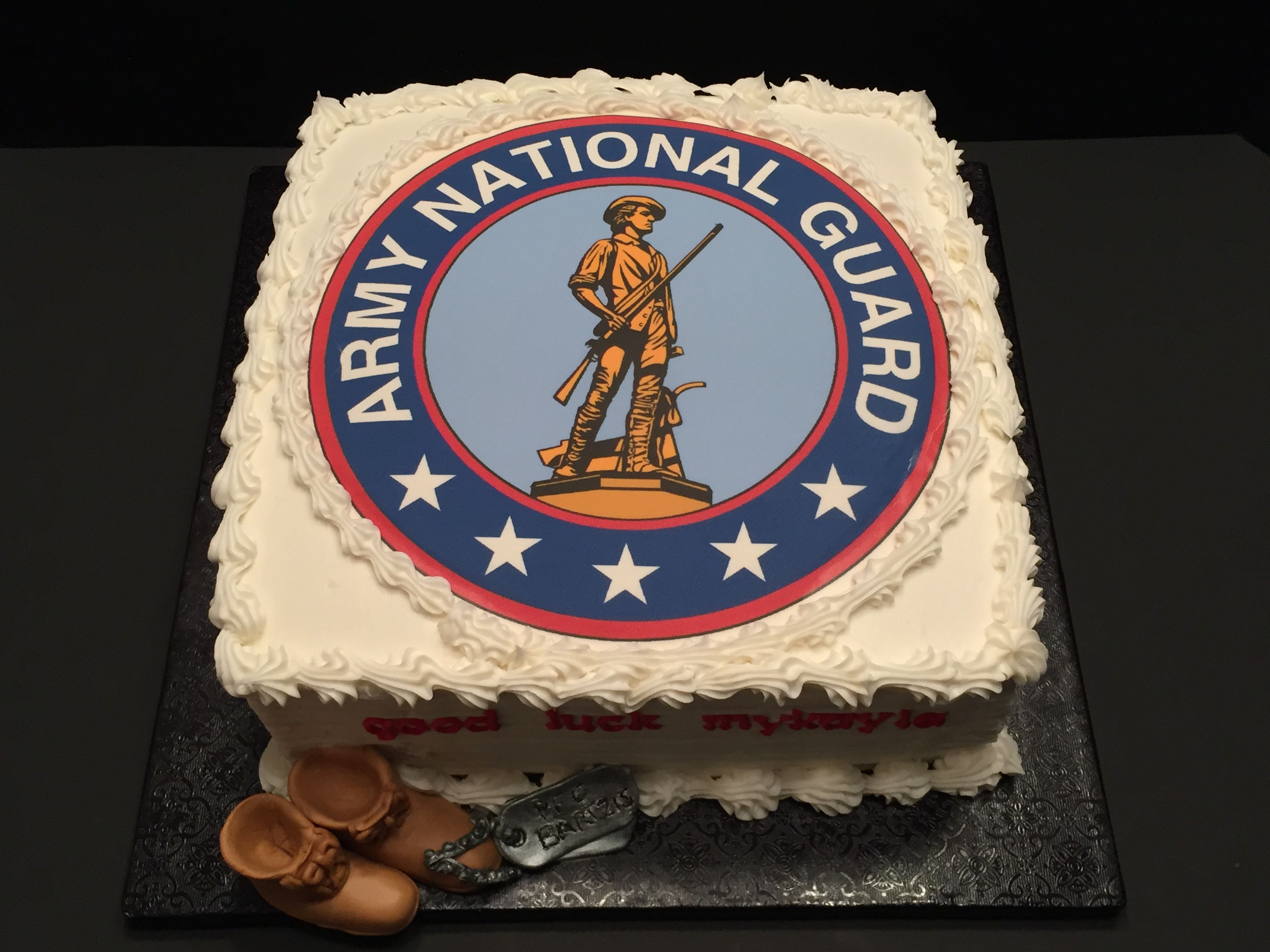 Army National Guard Cake Facebook Get Caked By Stacy Columbus Oh