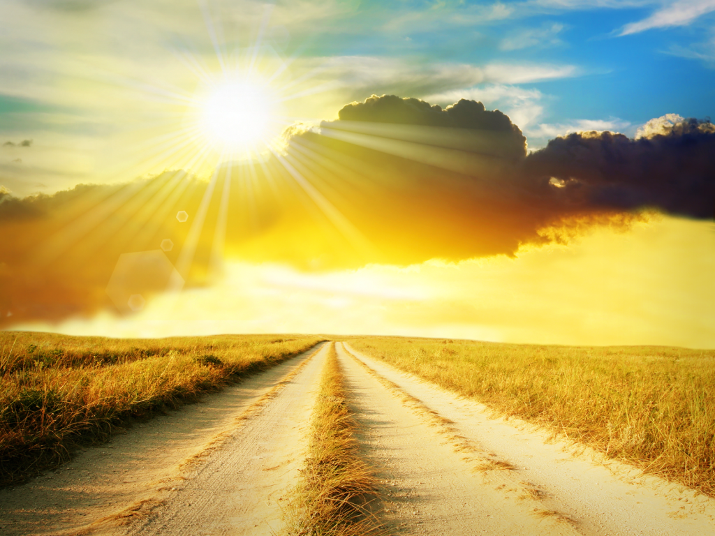 image of road | dusty road sunrise hd background image #1730 | high
