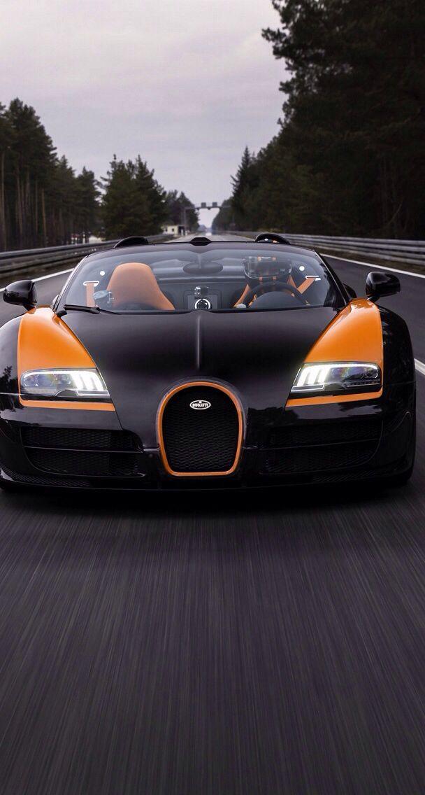 Black And Orange Bugatti Car Wallpapers Car Car Wallpaper
