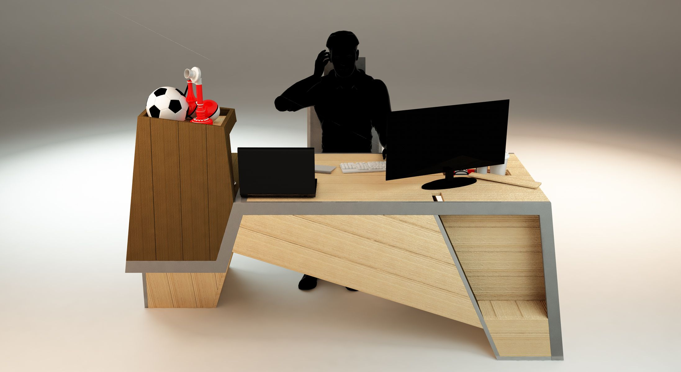 Exclusively for messy people! - Space Desk - usefuldesign47