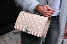 chanel bag - nice colour