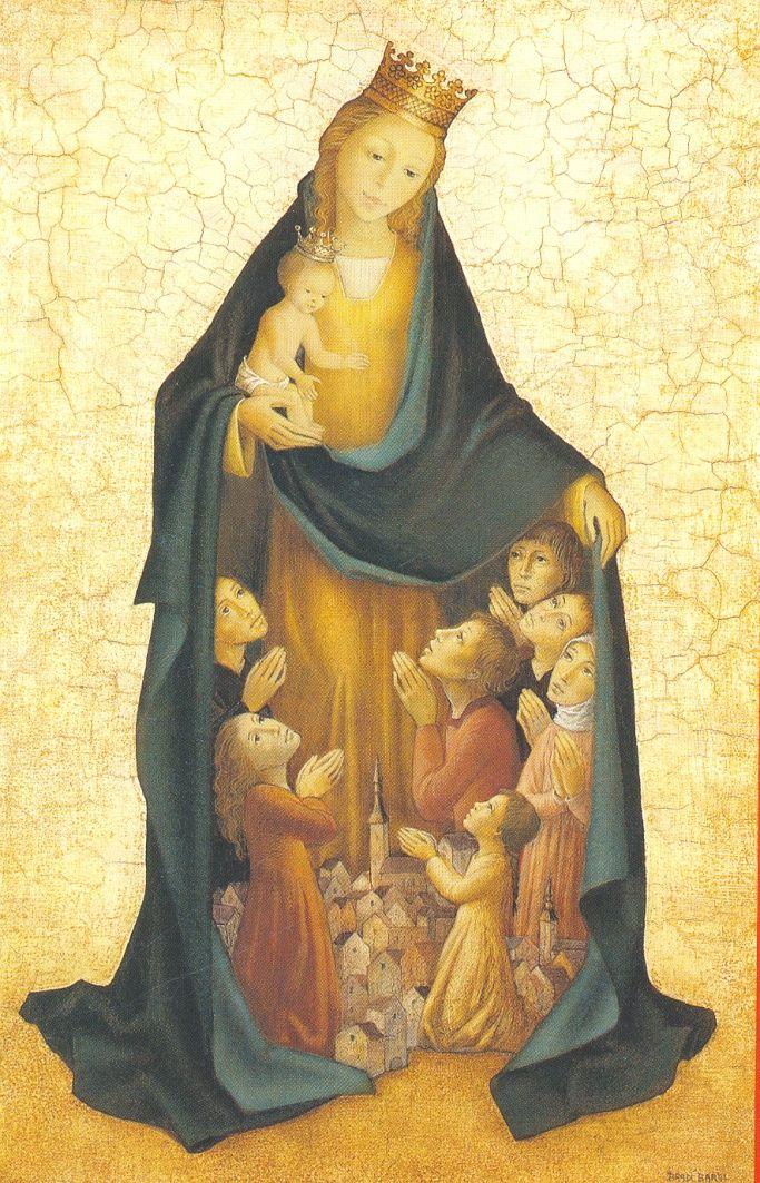 Puntadas divinas: Realeza de María 31 de Mayo