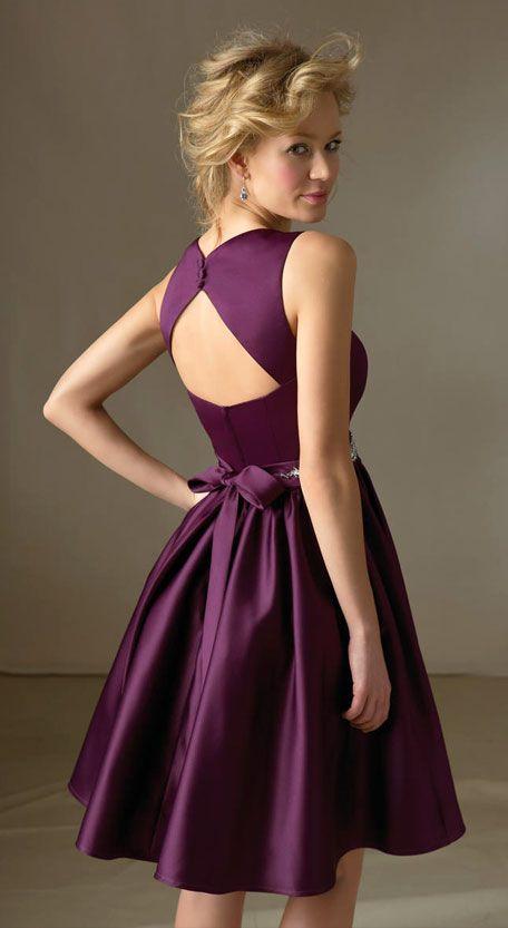 Purple Bridesmaid Dresses Short Purple Bridesmaid Dresses Short