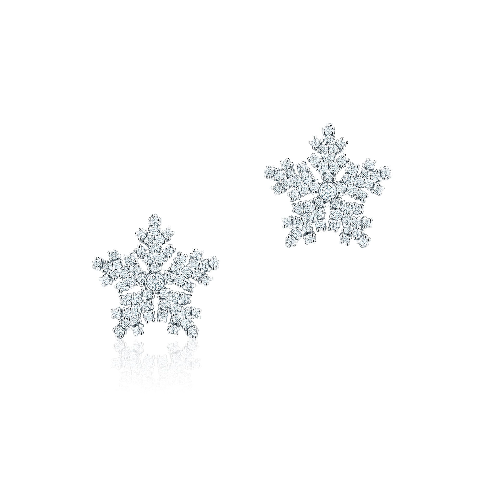 5381dce40 Birks Snowflake ® Diamond Earrings | Jewelry...pretty I like it. in ...