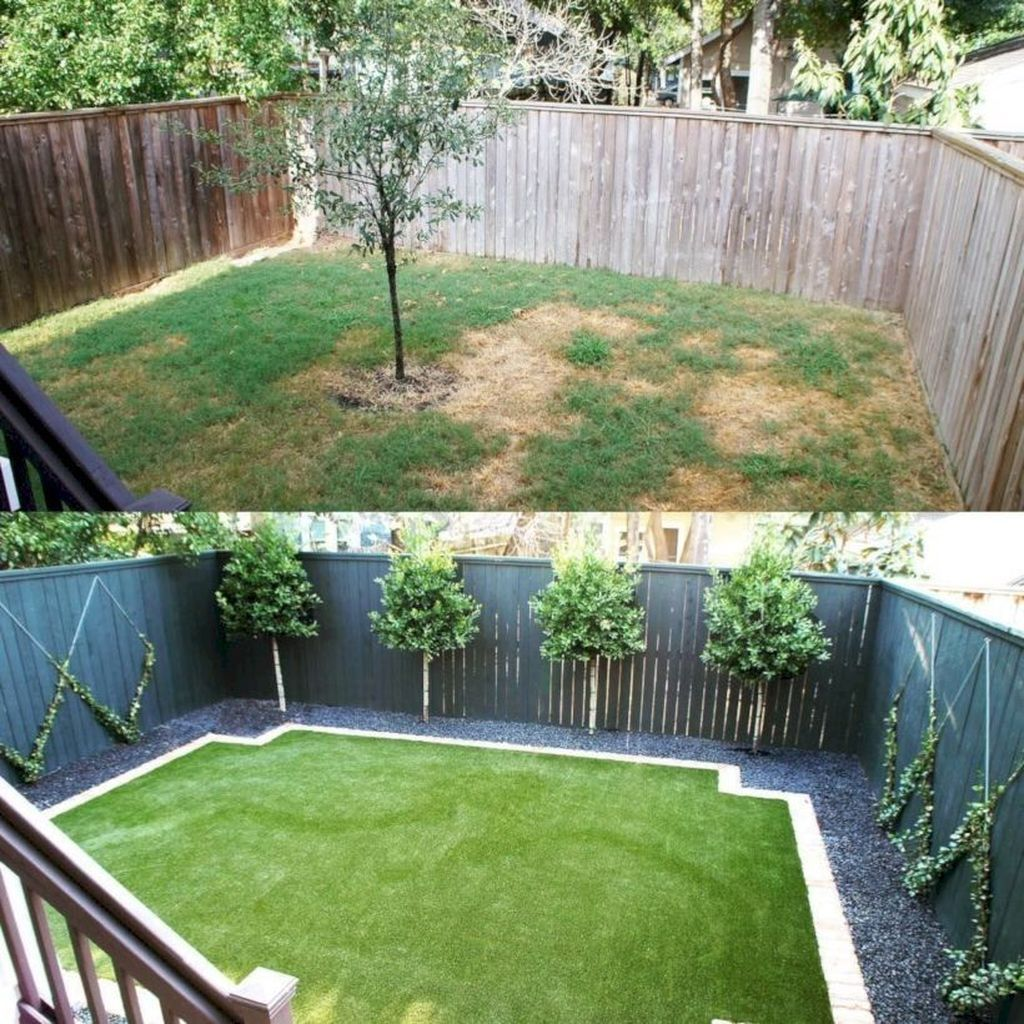 40 Gorgeous Small Backyard Landscaping Ideas Page 40 Of 45 Best Living In 2020 Small Backyard Landscaping Inexpensive Backyard Ideas Backyard Landscaping Designs Backyard landscaping ideas for a small yard