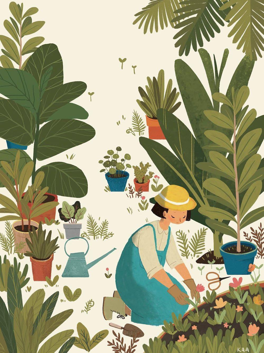 Le Jardin Du Bonheur Preserve Illustrationart With Images