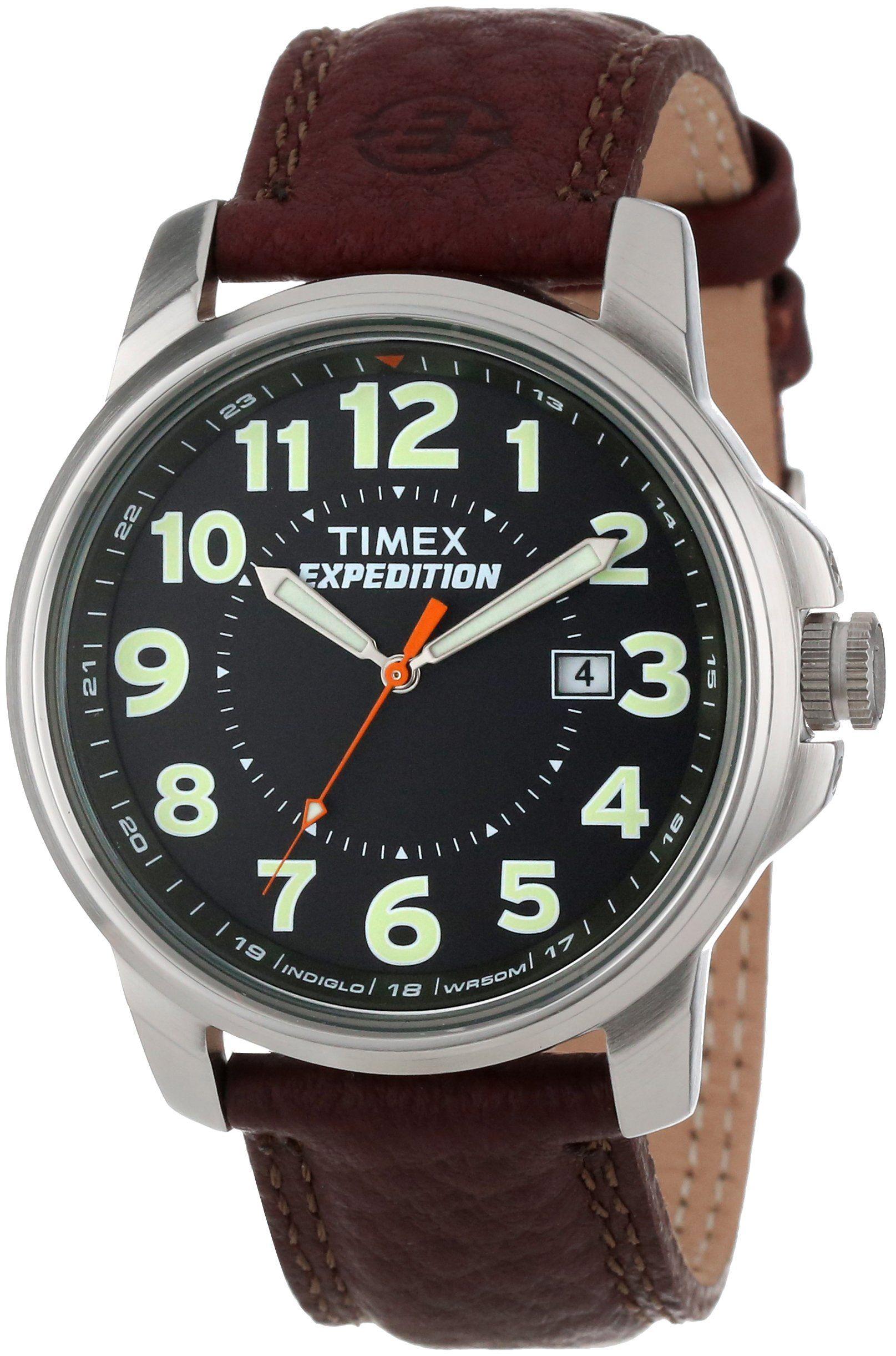 1e11109a24b6 Timex T44921PF - Reloj de caballero de cuarzo  Timex  Amazon.es  Relojes