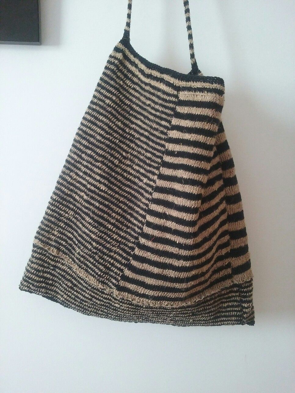 Amparo de la Sota. Linen, cotton. knitting. | bags | Pinterest | Bag ...