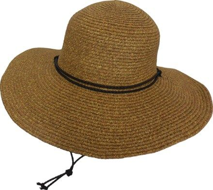 0b29baa7c Dorfman Pacific Packable Sun Hat Brown/Natural | Products | Sun hats ...