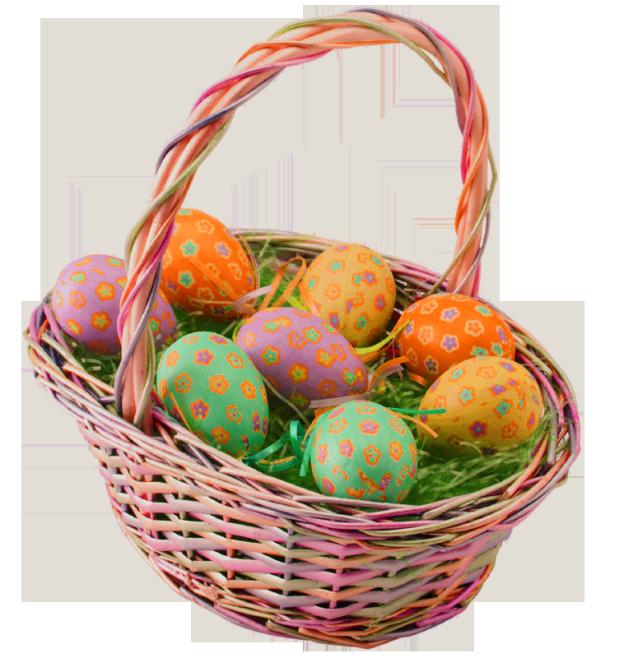 Easter Basket Transparent Background Free Png Images Easter Baskets Easter Basket