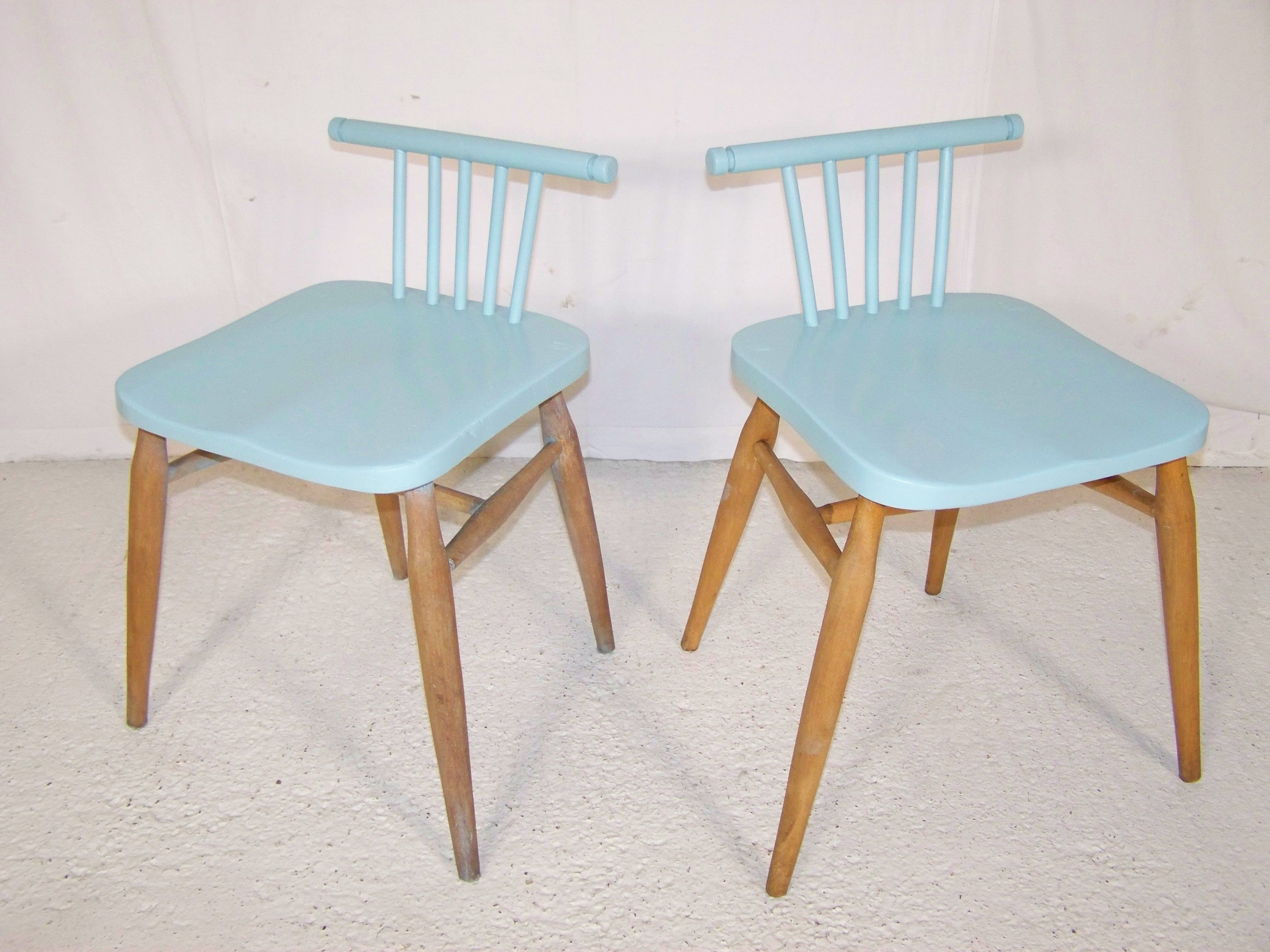 Sgabello Antico ~ Reworked vintage 50s ercol elm chairs chairs & armchairs כסאות