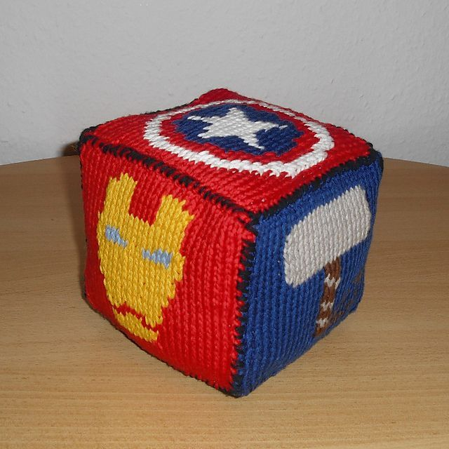 Free Knitting Pattern Roll the Dice – Marvel Comics by Andrea