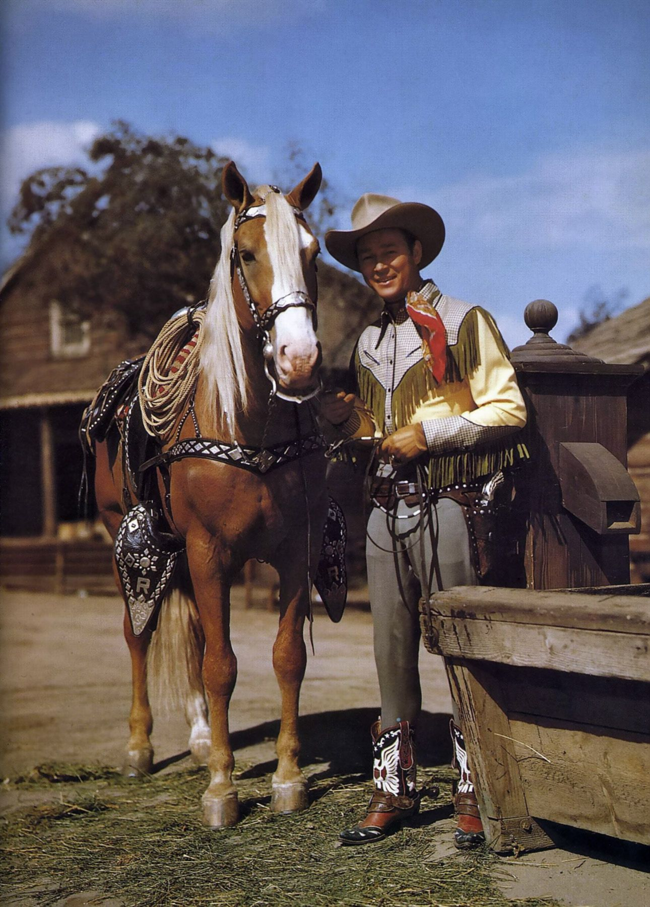 Roy Rogers Horses Animals Tennessee Walking Horse [ 1800 x 1290 Pixel ]