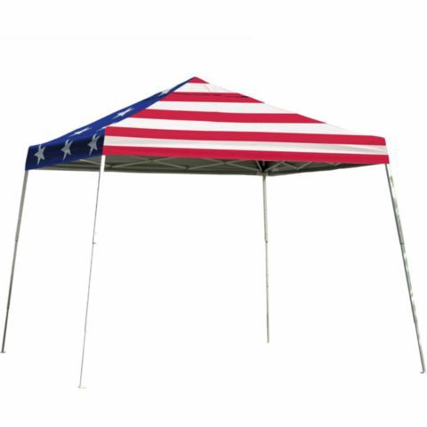 Shelterlogic 12 Ft Sport Pop Up Canopy American Flag Cover Tractor Supply Co Canopy Pop Up Patio Umbrella