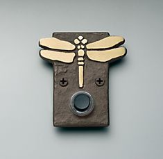 Dragonfly Doorbell...since dragonflies are my totem