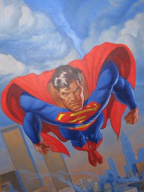 #Superman #Fan #Art. (Superman) By: Jon Bogdanove. (THE * 5 * STÅR * ÅWARD * OF: * AW YEAH, IT'S MAJOR ÅWESOMENESS!!!™)[THANK U 4 PINNING!!!<·><]<©>ÅÅÅ+(OB4E)
