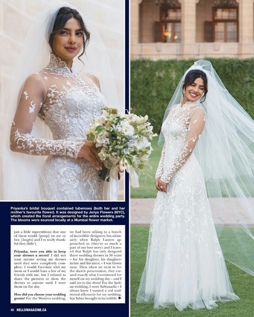 Priyanka Wedding Dress 6