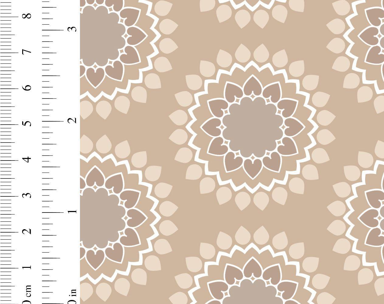 Ginger lily studio lotus as0092 cw 03 geometric mandala