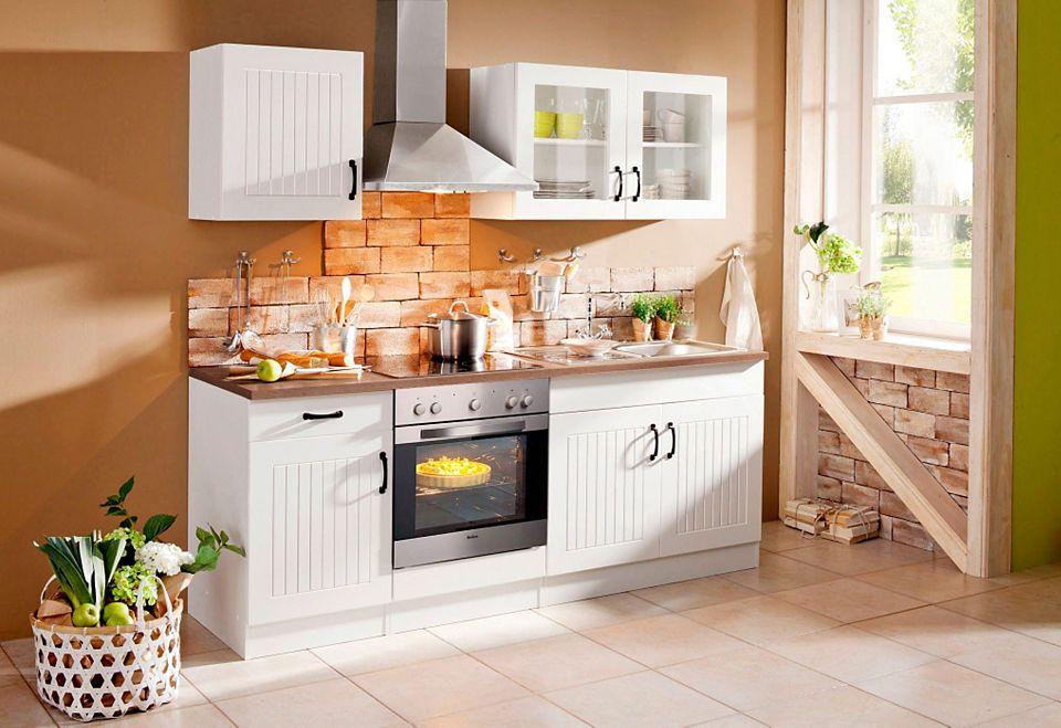 Küchenzeile, Held Möbel, »Athen«, Breite 210 cm Jetzt bestellen - küchenzeile 240 cm mit geräten