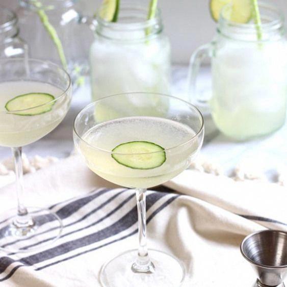 Two Ways. Homemade Cucumber