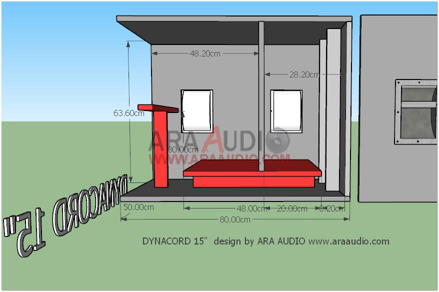 Skema Box Dynacord 15 Inch Mantap Ara Audio Desain Penyimpanan Speaker