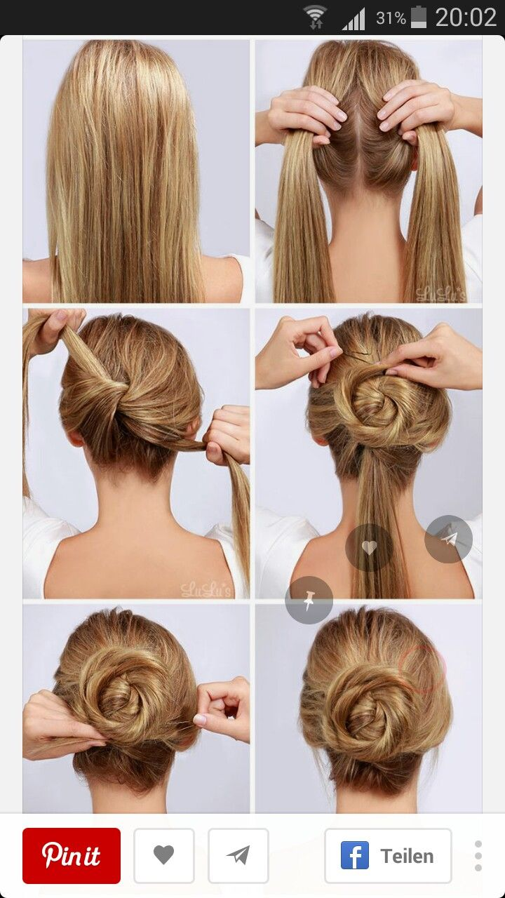 Pin by Divdeepsh Singh on Hairstyles | Pinterest | Hair style, Easy ...