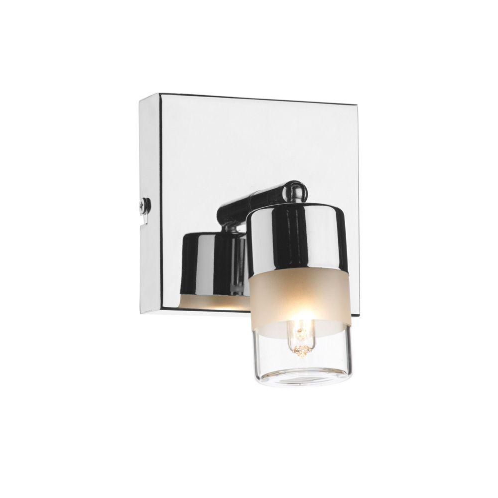 Dar Art7150 Artemis 1 Light Chrome Bathroom Wall Light Wall Spotlights Wall Lights Bathroom Wall Lights