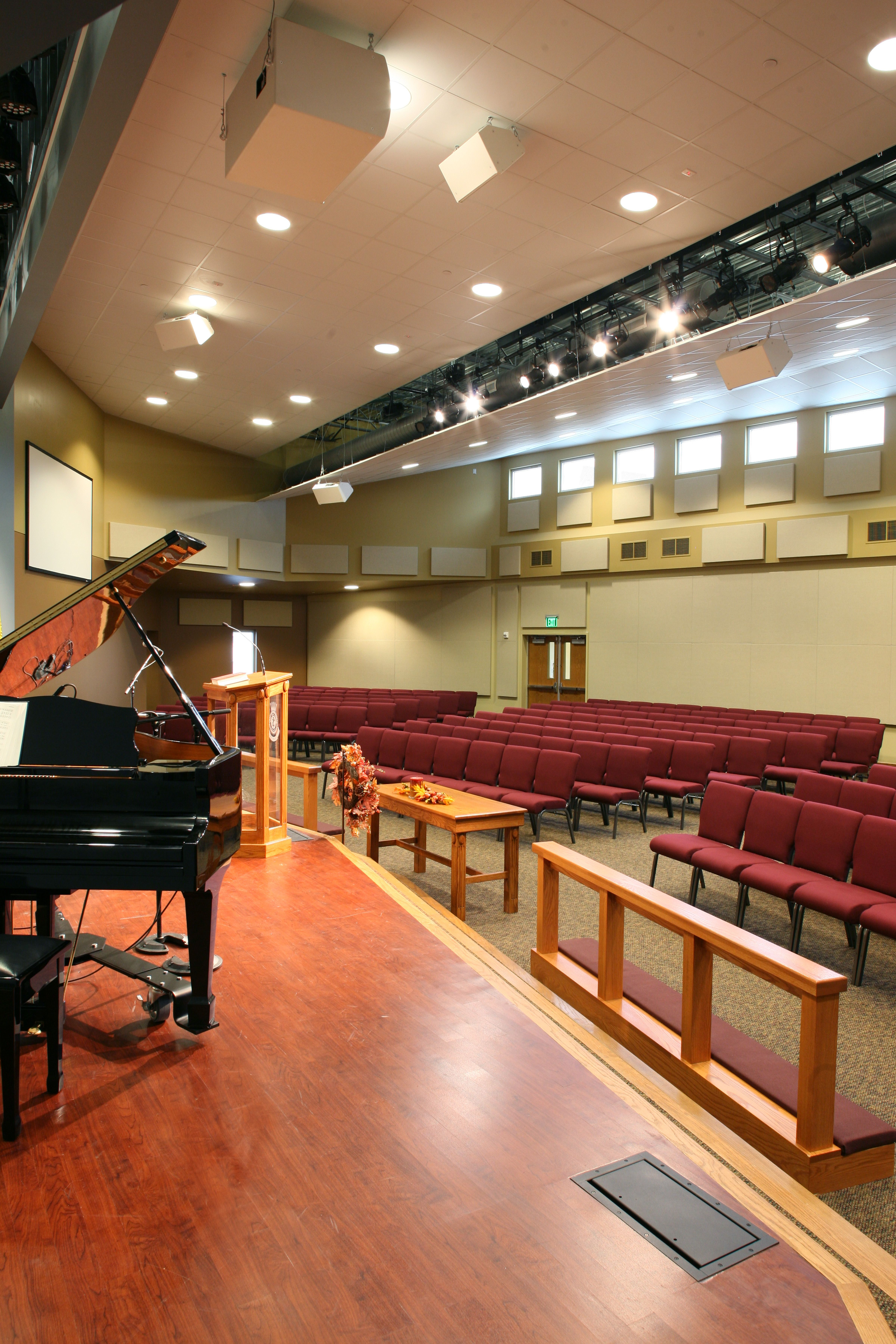 Gi Room Design: Salvation Army Chapel, Olathe, KS