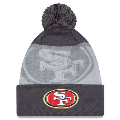 7191fcc3615 NFL San Francisco 49ers New Era Gold Collection Knit Hat - Graphite Gray