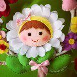 Photo of Corona di prua fiori primaverili e farfalla handmadekritilo