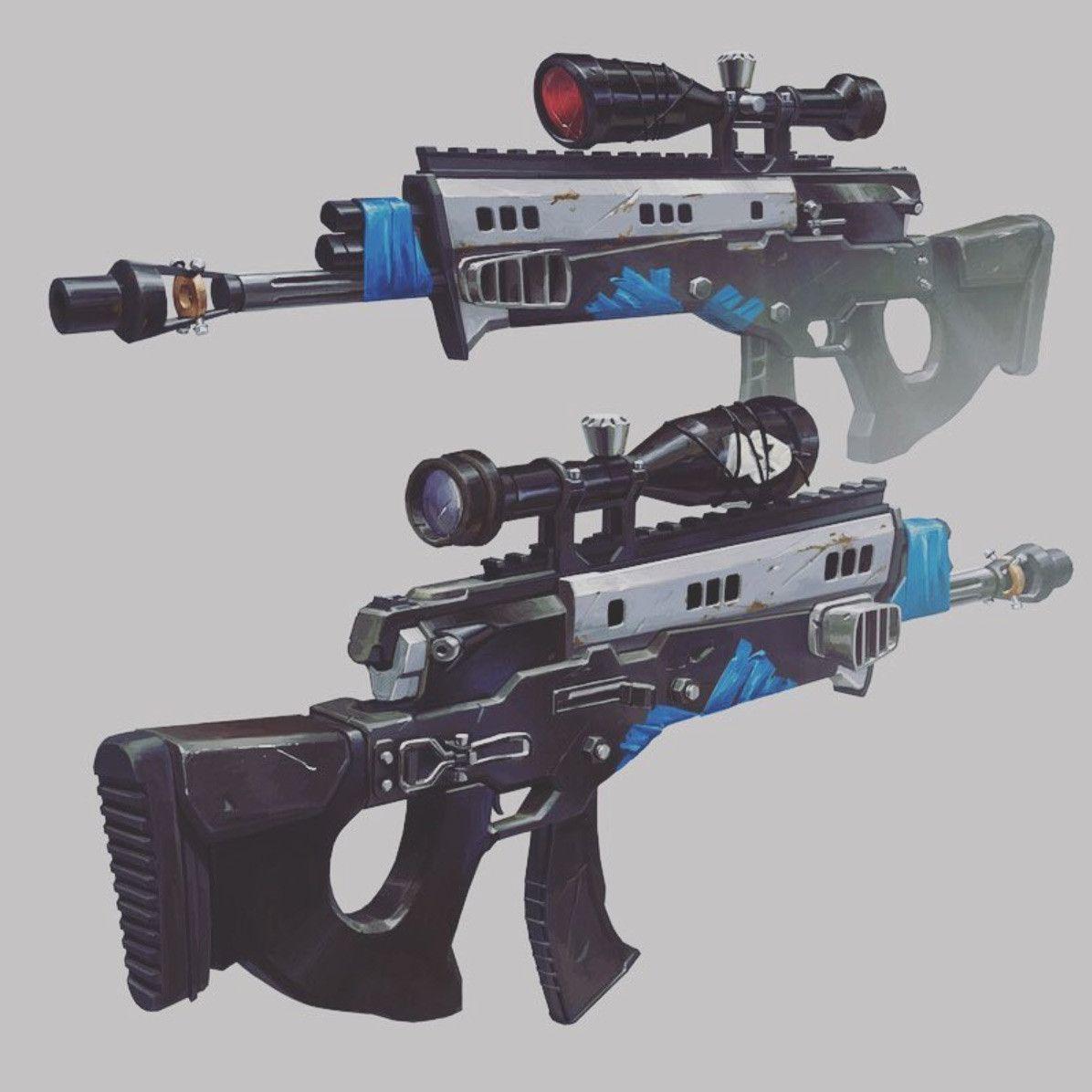 ArtStation - Fortnite - Deathstalker, Elijah McNeal | scifi weapons ...