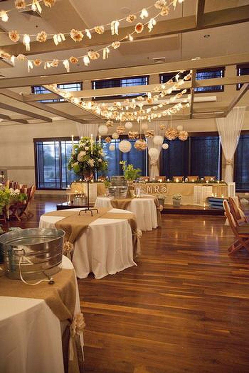 Great 40 Romantic Indoor Rustic Wedding Ideas Weddmagz