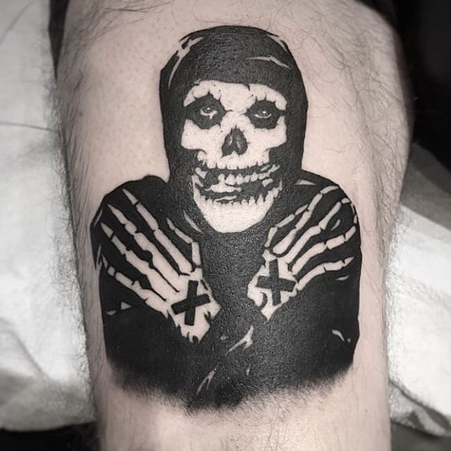 Xed Up Misfits Crimson Ghost Tattoo Straight Edge Ghost Tattoo