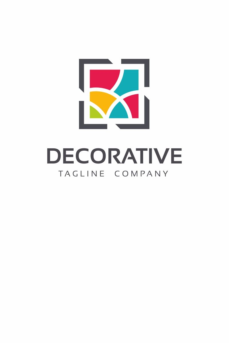 Photo of Decorative Logo Template